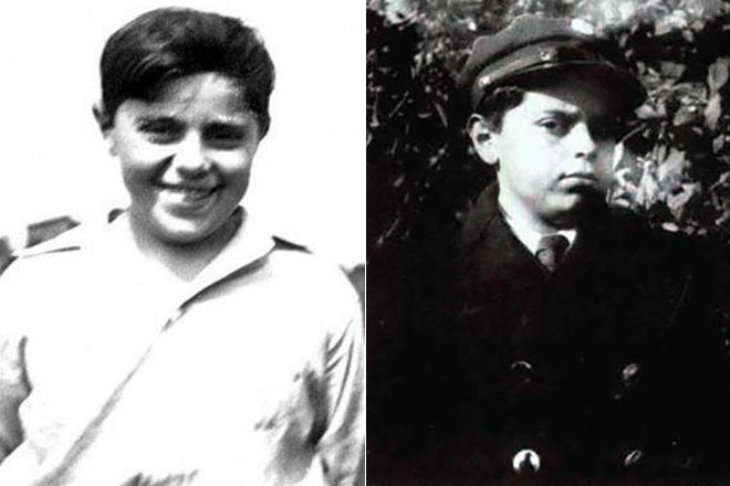 Станислав Лем в молодости