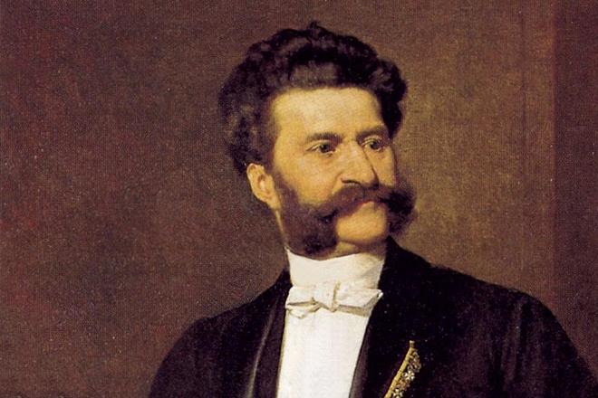 Портрет Иоганна Штрауса