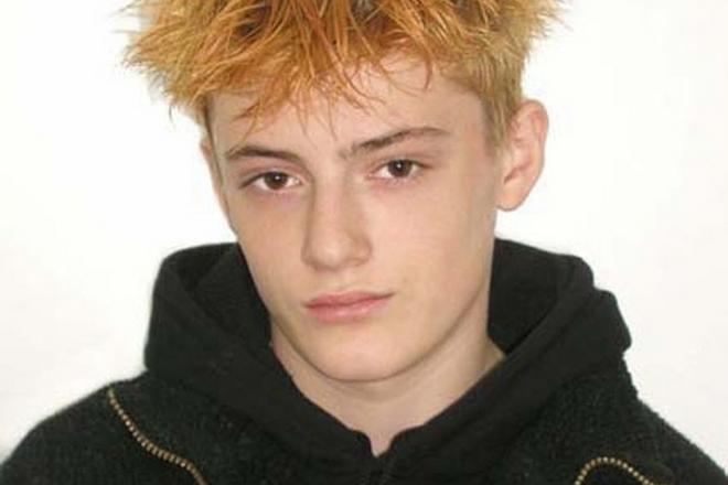 Саша Шапик в 14 лет
