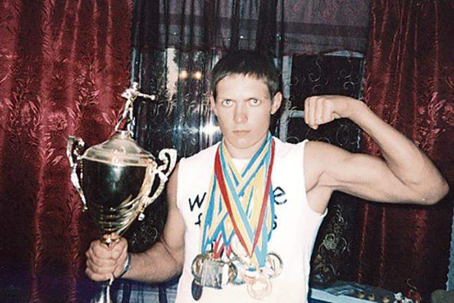 Александр Усик в юности