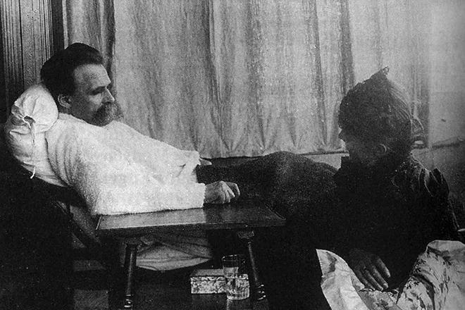 Фридрих Ницше в психиатрической клинике