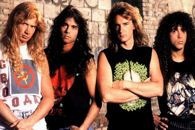 Группа «Megadeth» в 1990 году