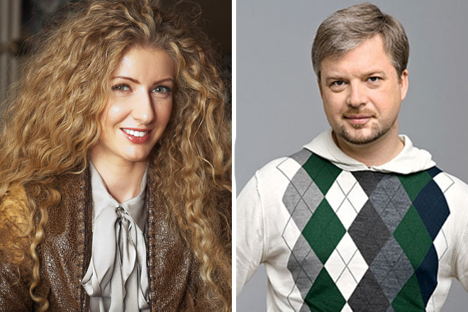 Валдис Пельш и Изольда Ишханишвили
