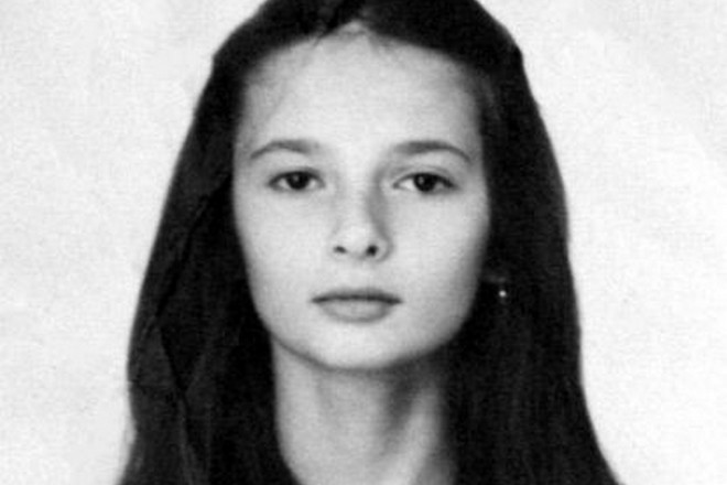 Виктория Талышинская в детстве