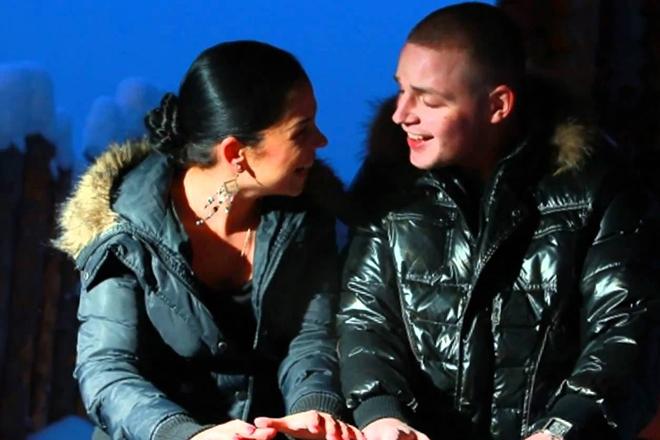 Катя Колисниченко и Денис Лысенко