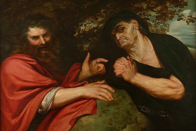 Демокрит и Гераклит