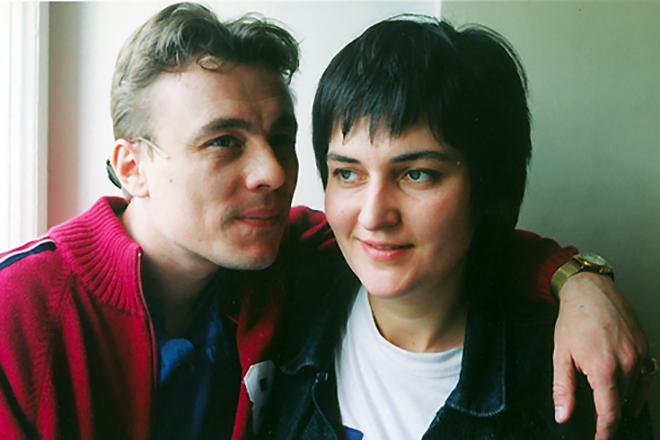 Олег Васильков с женой Натальей