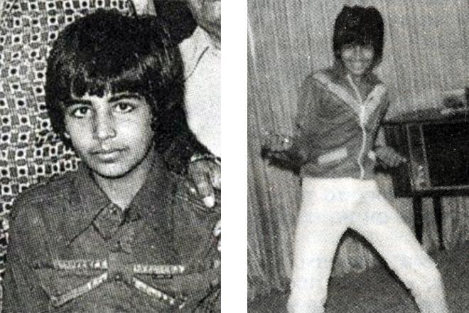 Акшай Кумар в детстве