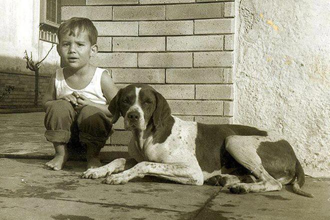 Айртон Сенна в детстве