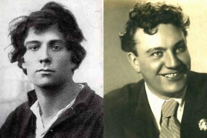 Николай Симонов в молодости и зрелости