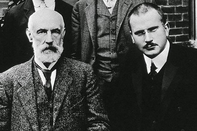 Зигмунд Фрейд и Карл Юнг