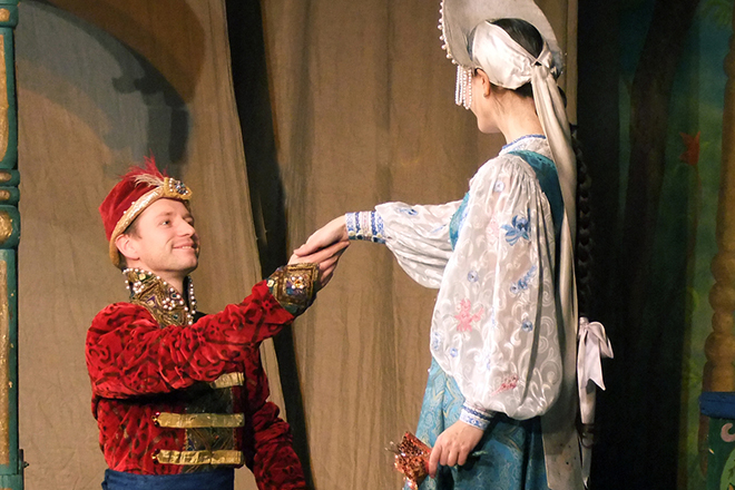 Владимир Жеребцов в театре