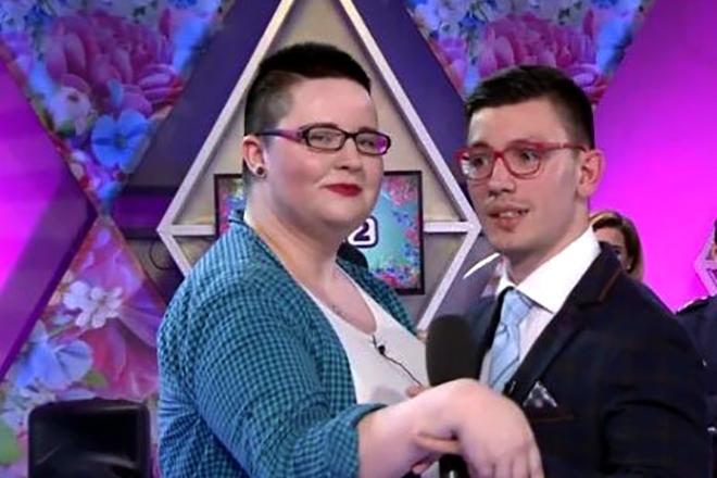 Александра Черно и Роман Баранчук