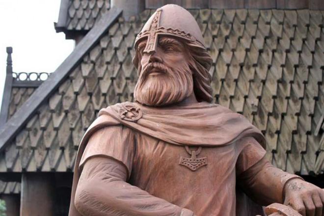 Памятник Ивара Бескостного