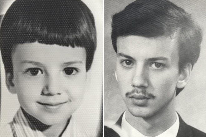 Аркадий Дворкович в детстве и юности