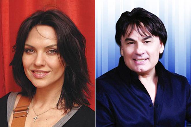 Надя Ручка и Александр Серов
