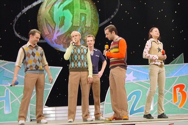 Виктор Васильев и «Сборная Санкт-Петербурга» на сцене КВН