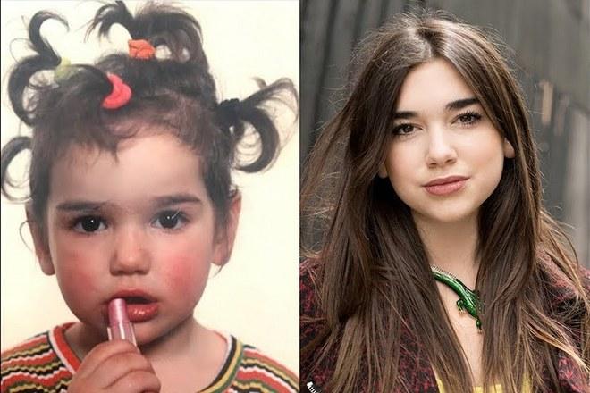 Дуа Липа в детстве и юности
