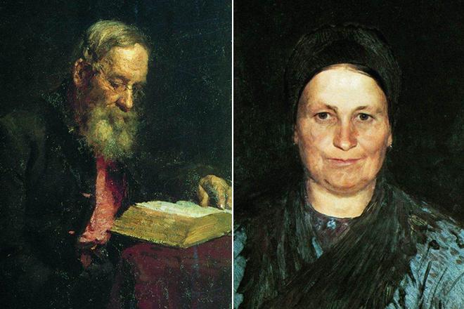 Родители Ильи Репина
