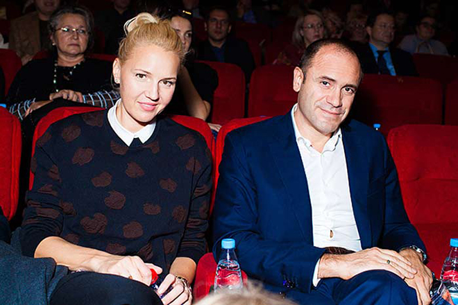 Юлия Бордовских и ее муж Алексей Кравцов