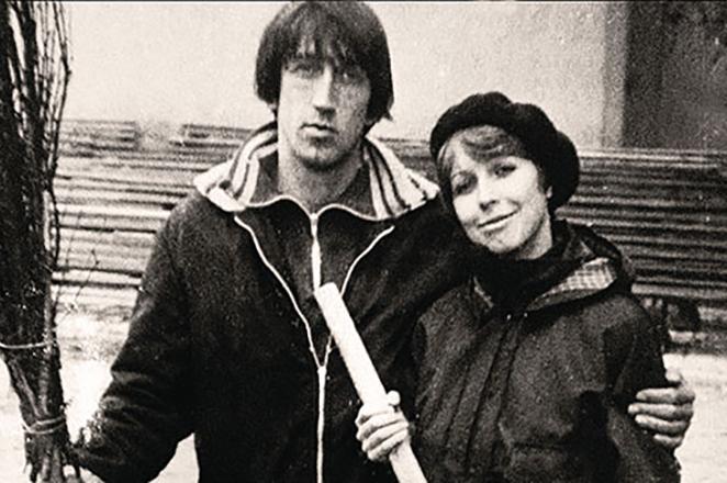 Олег Митяев со второй женой