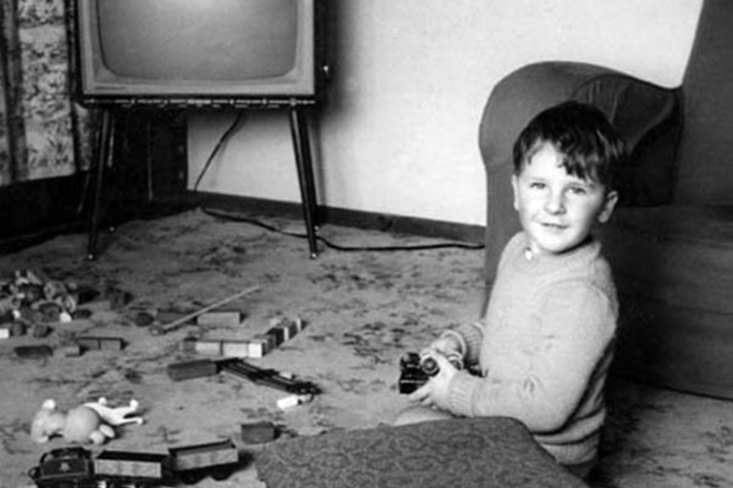 Питер Джексон в детстве