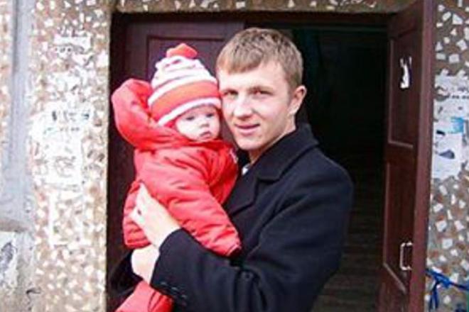 Илья Яббаров с дочерью