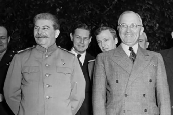 Гарри Трумэн и Иосиф Сталин