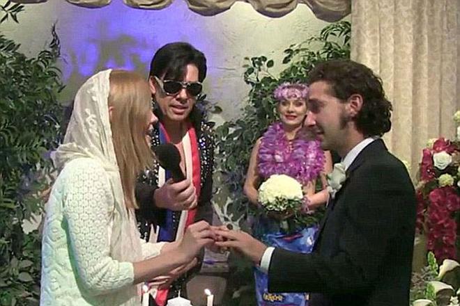 Свадьба Мии Гот и Шайи Лабафа