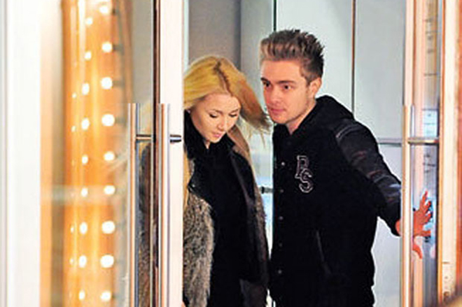 Анна Заворотнюк и Егор Крид