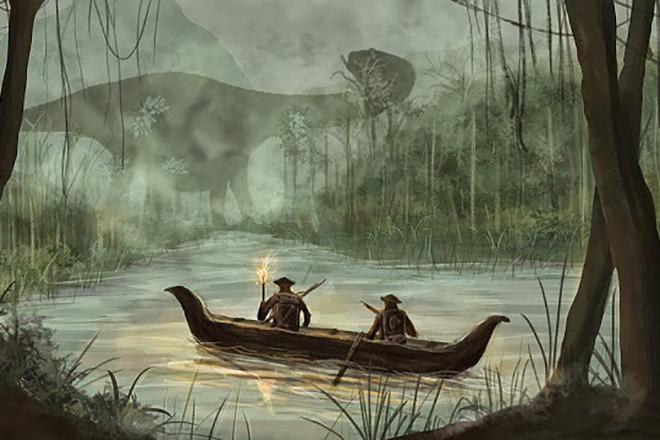 Иллюстрация к книге Артура Конан Дойля