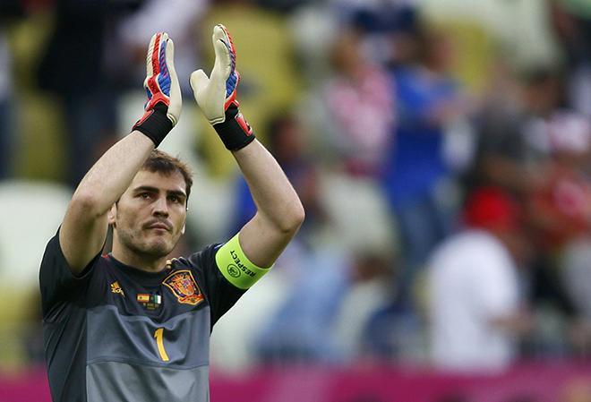 Икер Касильяс попрощался со сборной Испании