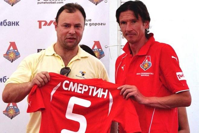 Алексей Смертин в клубе