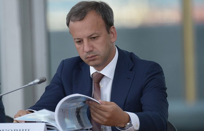 Аркадий Дворкович в Минфине