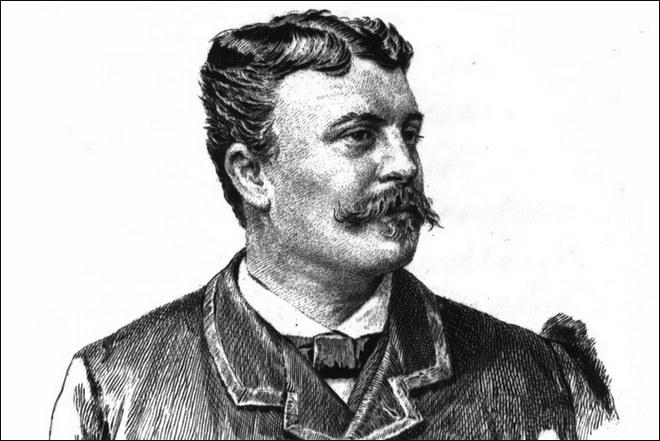 Писатель Ги де Мопассан