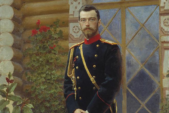Картина Репина «Портрет Николая II»