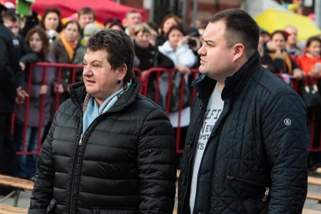Светлана Орлова и ее сын Владимир