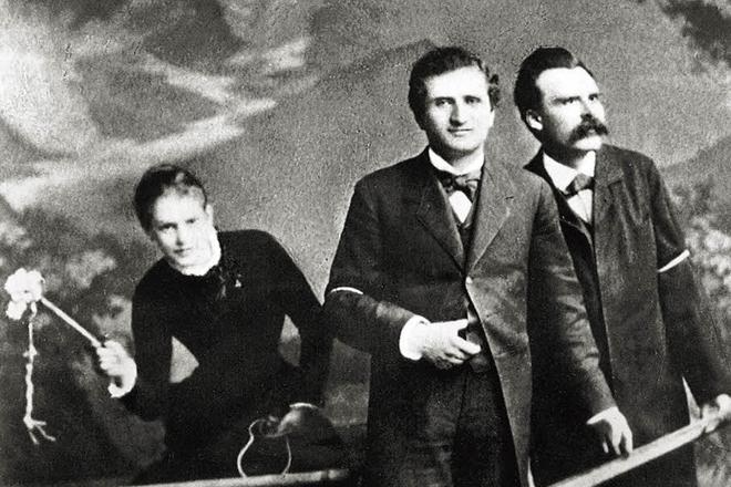 Лу Саломе, Пауль Реё и Фридрих Ницше
