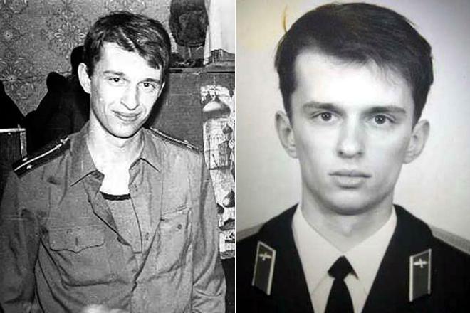 Герман Клименко в молодости