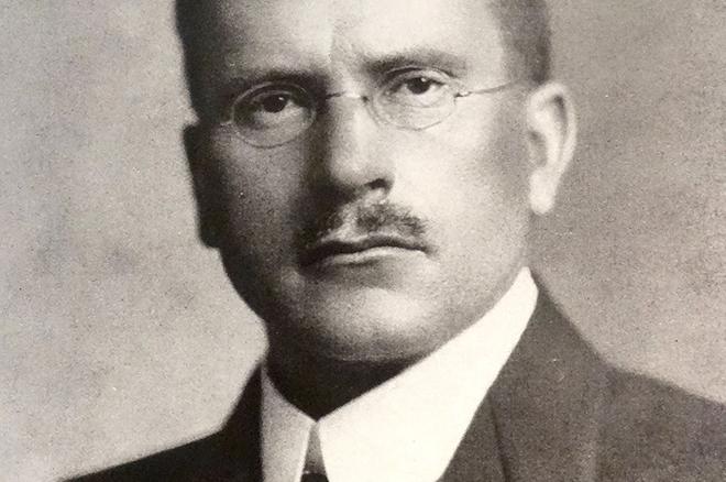 Карл Юнг в молодости