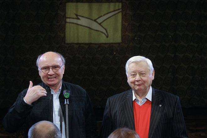 Андрей Мягков и Олег Табаков