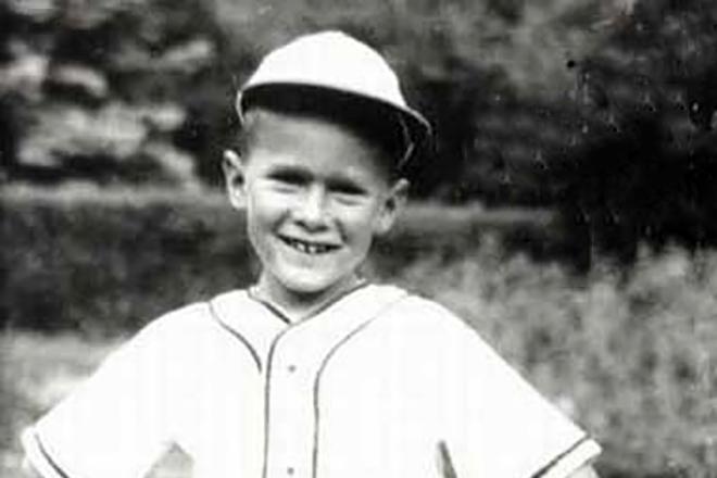 Джордж Буш в детстве