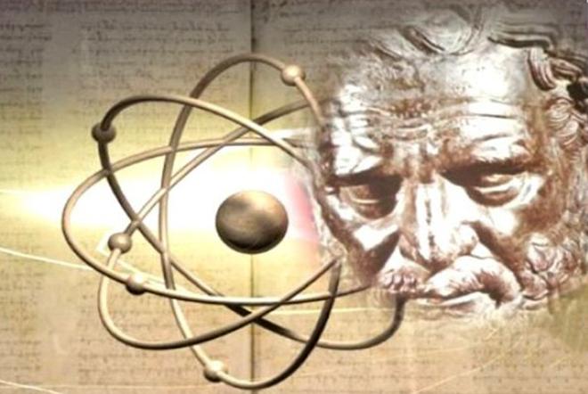 Демокрит и атомы