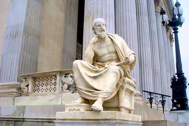 Памятник Геродоту