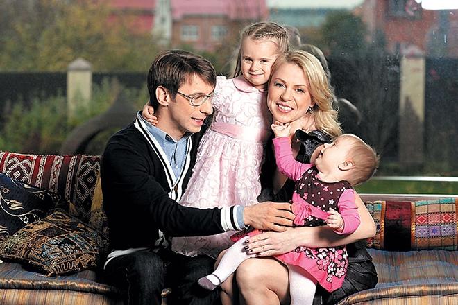 Михаил Зеленский с семьей