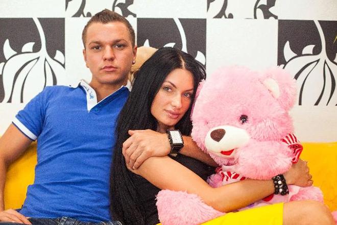 Евгения Феофилактова и Антон Гусев на проекте
