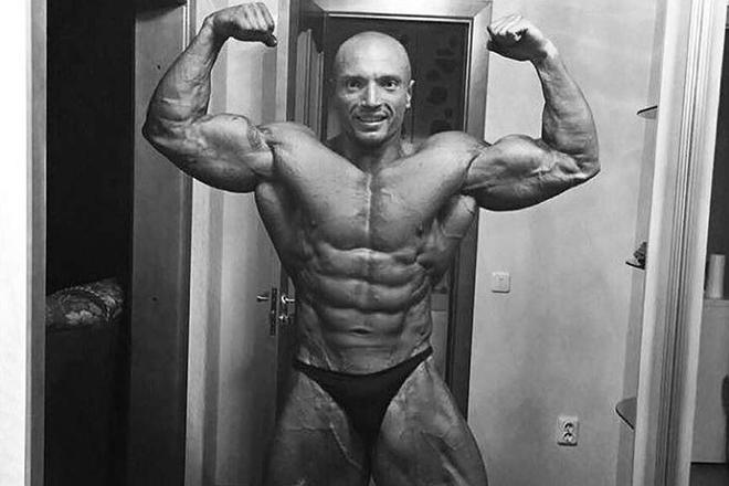 Андрей Драчев занялся бодибилдингом