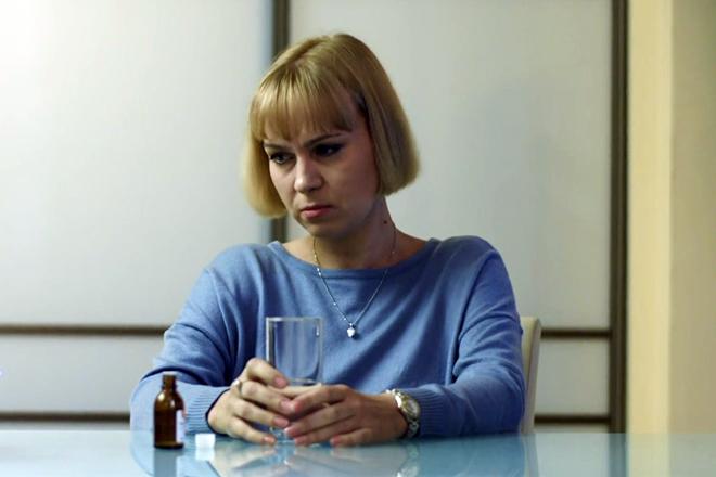 Светлана Чуйкина в сериале «Шелест»
