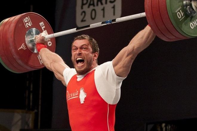 Дмитрий Клоков на соревнованиях