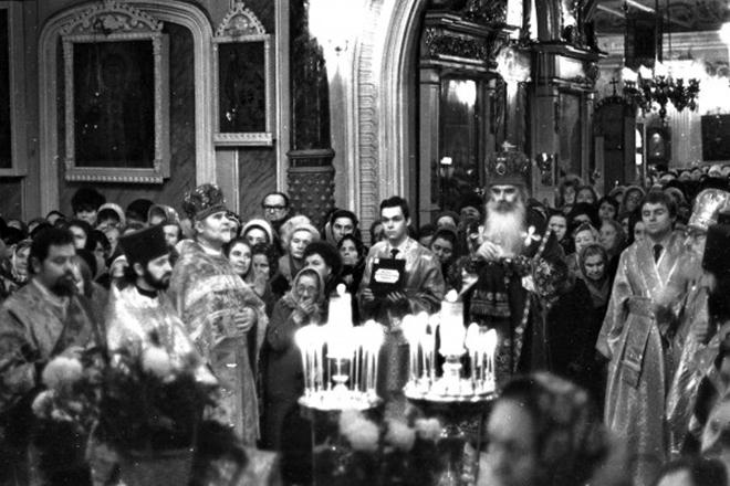 Всеволод Чаплин – иподиакон митрополита Питирима